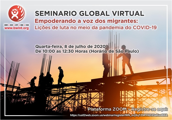 Seminário Global Virtual: Empoderando a Voz dos Migrantes